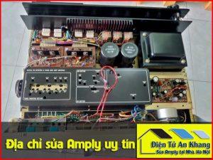 Sửa ampli karaoke tại nhà