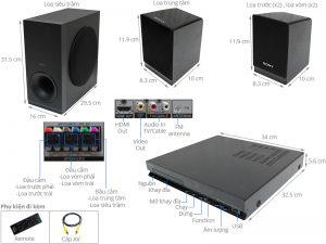 Sửa dàn âm thanh Sony tz140 tại huyện Quốc Oai